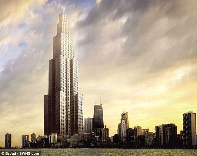 Гигантский небоскреб появится в Китае через 90 дней.