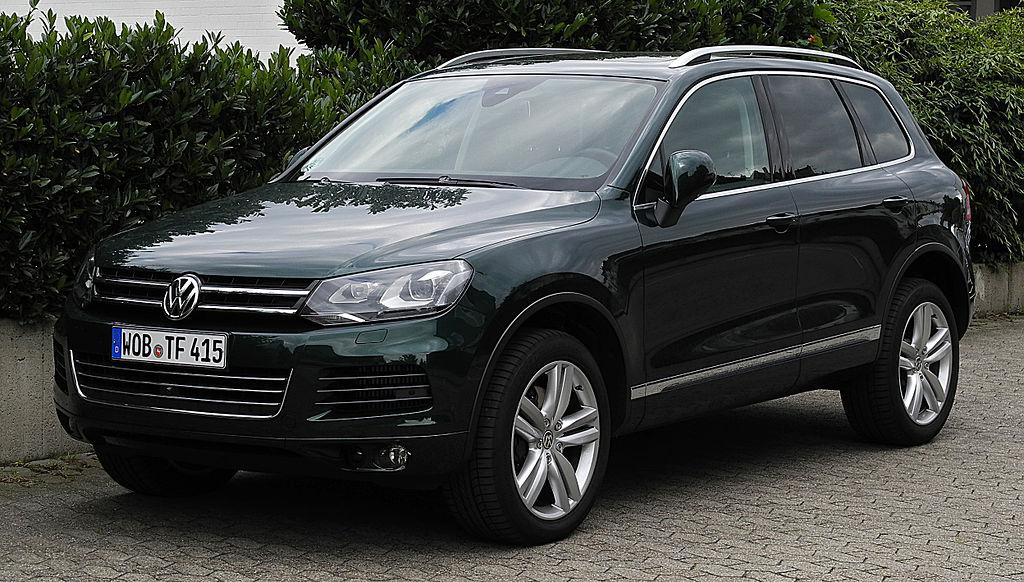 Второй незадекларированный автомобиль Volkswagen Touareg