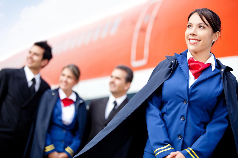 Чтобы стать стюардессой, нужно обладать идеальным здоровьем и хорошими внешними данными