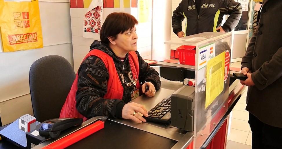 Самым большим донором является кассирша в супермаркете в пригороде Киева