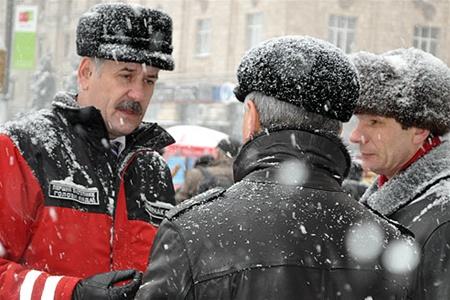 Снегопад лишил Киев нескольких миллиардов гривен, а также тройки чиновников
