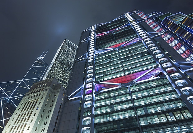 Здание банка HSBC оборудовано уникальной системой вентиляции