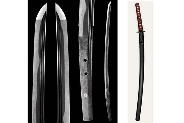 Древний самурайский меч