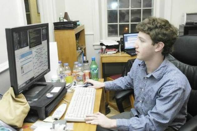 Студент Марк Цукерберг в начале 2000-х