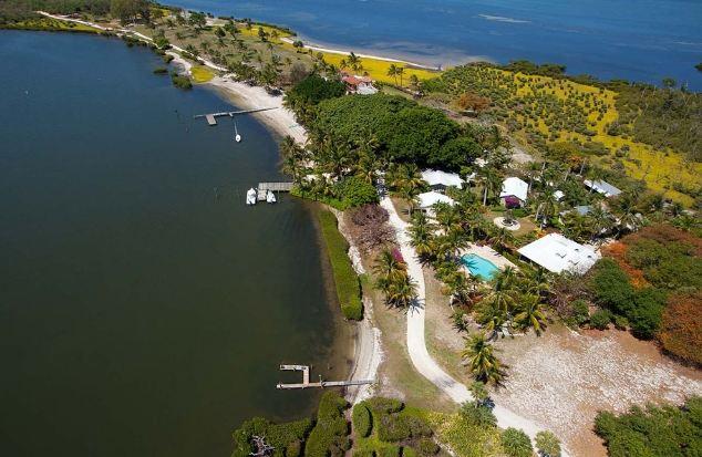 Площадь самого дорогого острова в США составляет 42 гектара
