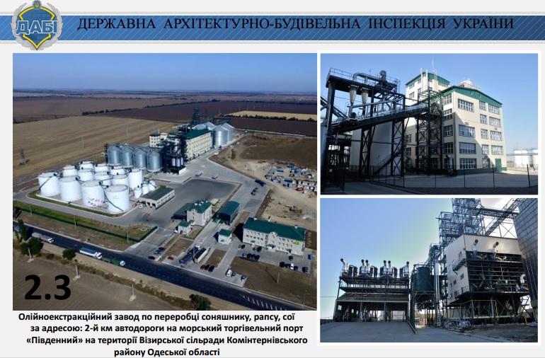 Завод Южный в Одесской области