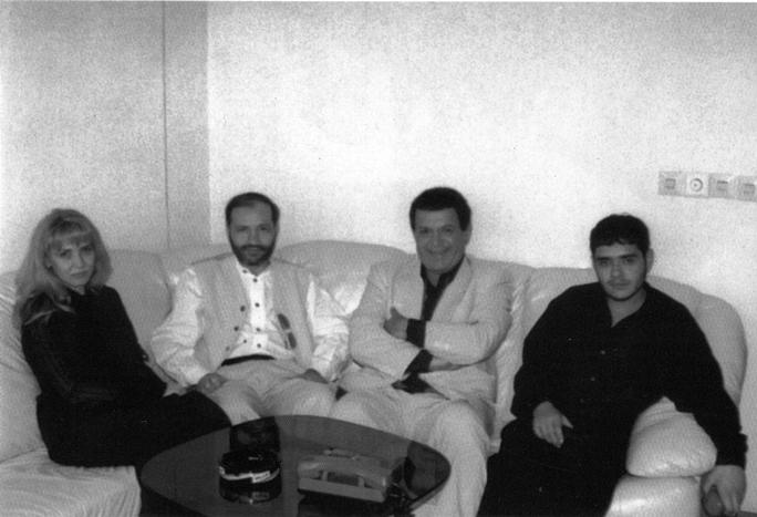 Евгений Щербань в гостях у Иосифа Кобзона. За день до убийства