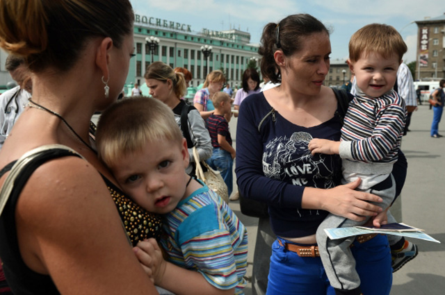 знакомства с беженцами с украины