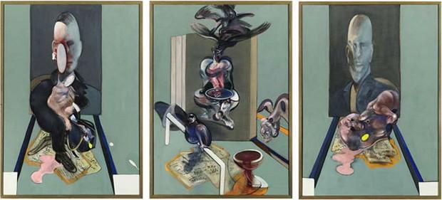 «Триптих 1976», Фрэнсис Бэкон
