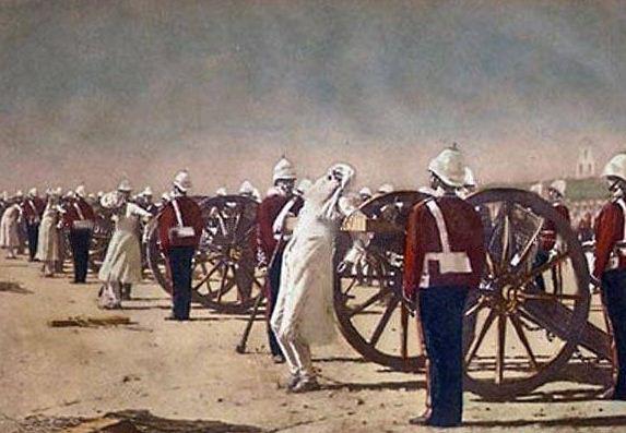 Британцы хотели получить контроль над сырьевой базой Индии