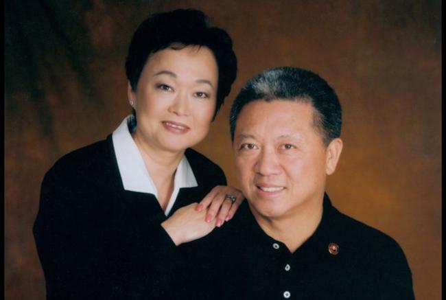 Руководители Panda Restaurant Group Эндрю и Пегги Чернг