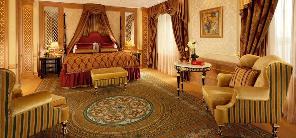 Пышный царский стиль в Fairmont Grand Hotel