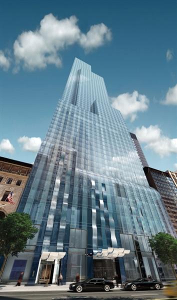 One57 находится на элитном отрезке 57-й улицы Манхэттена