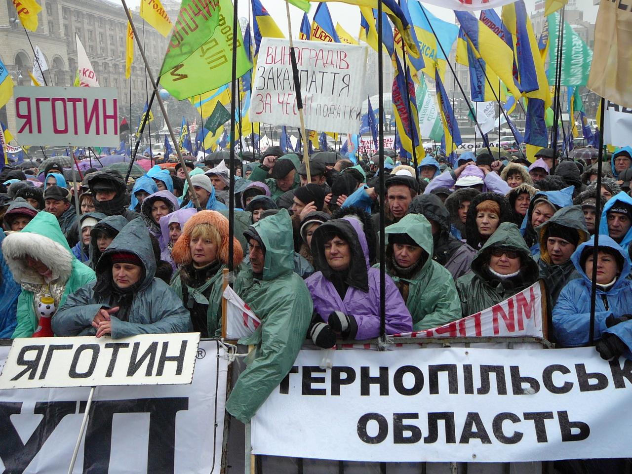 Налоговый Майдан заставил власть пойти на встречу предпринимателям