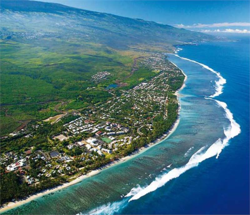 Остров Воссоединения в Индийской океане