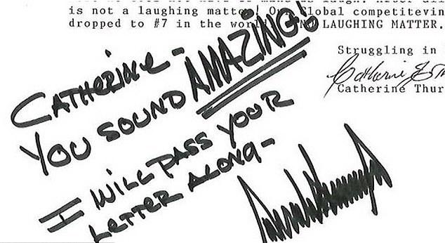 Об его огромном эго говорит и размашистая подпись