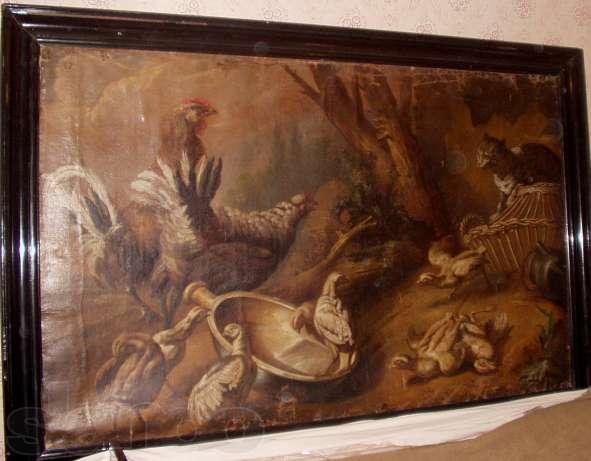 Картина голландского художника 17-го века