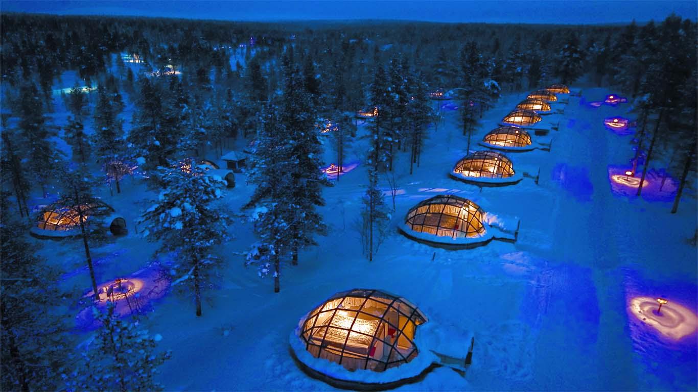 Hotel Kakslauttanen, Финляндия