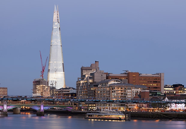 Небоскреб Осколок в Лондоне построили совсем недавно