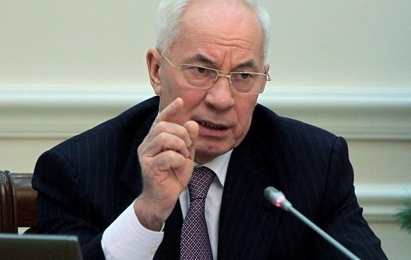 Азаров уверен в стабильности цены на российский импортный газ