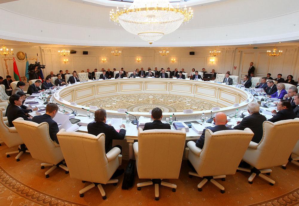 Заседание совета Евразийской экономической комиссии