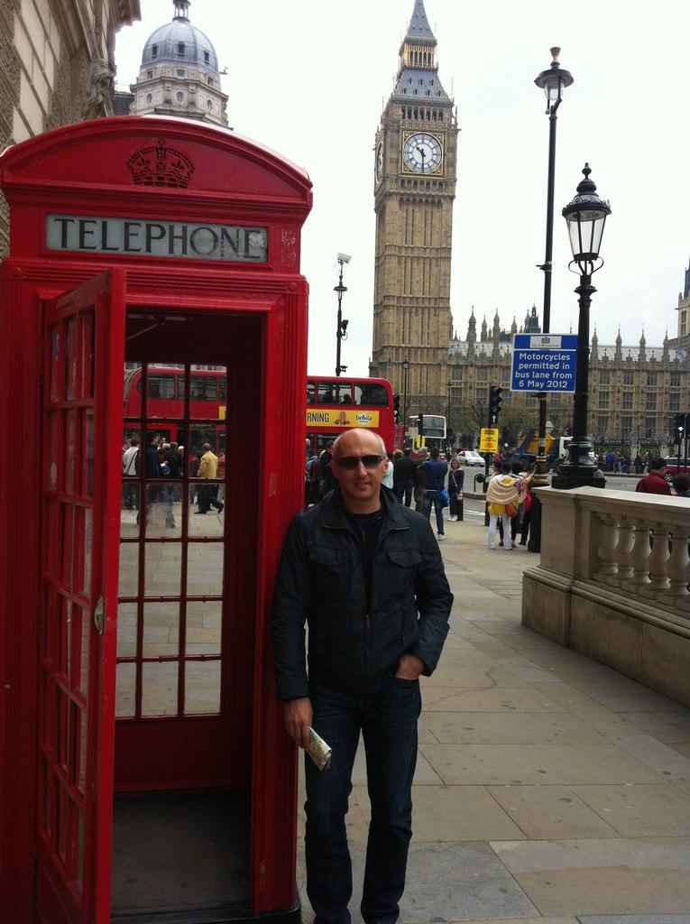 Соркин посетил Лондон