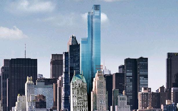 Ультра-роскошный жилой небоскреб будет иметь 90 этажей и станет самым высоким в Нью-Йорке