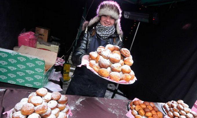На Рождество во Львове традиционно проходит праздник Пампуха