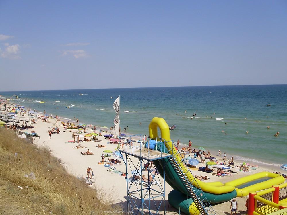Азовское побережье - самое дешевое в Украине