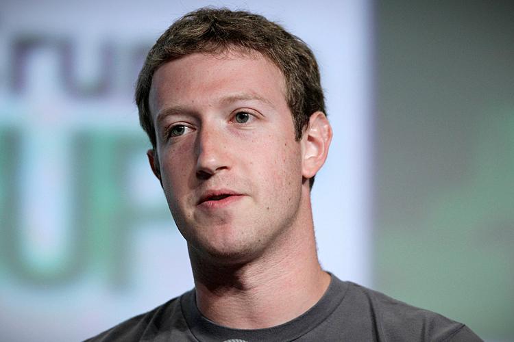 Состояние 29-летнего Цукерберга составляет 13,3 млрд. долларов