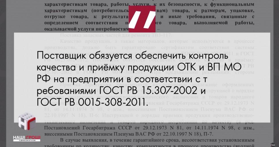 Мотор Сич поставляет детали военной авиации РФ