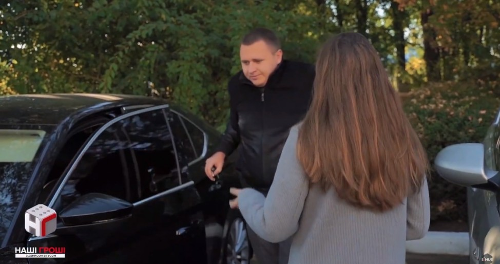 Авто Андрея Недбайло, не указанное в декларации
