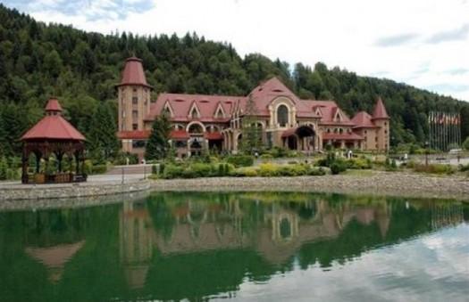 Резиденция президента в Карпатах