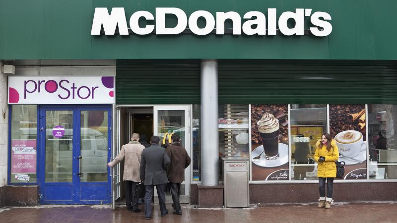 McDonald's раскошелится на 33 обеда
