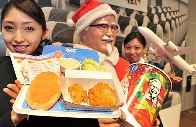 Фастфудом KFC будут кормить пассажиров некоторых рейсов в США и Европу