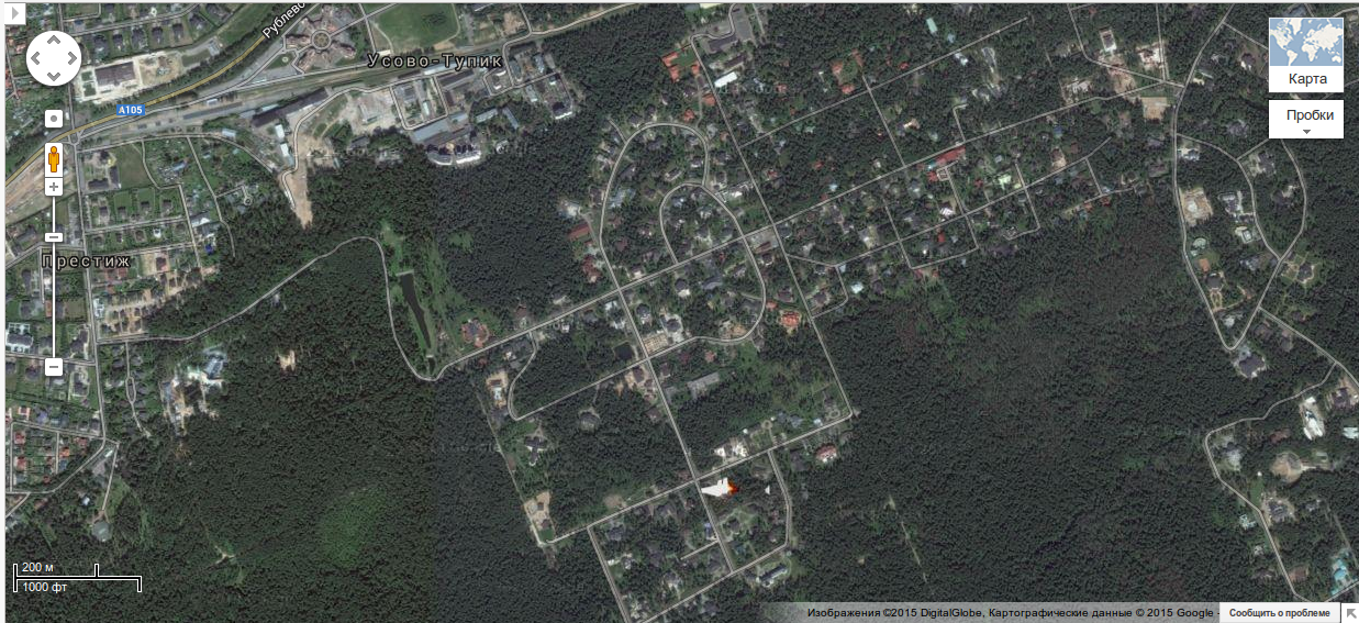 Российский журналист показал на карте дом януковича на.