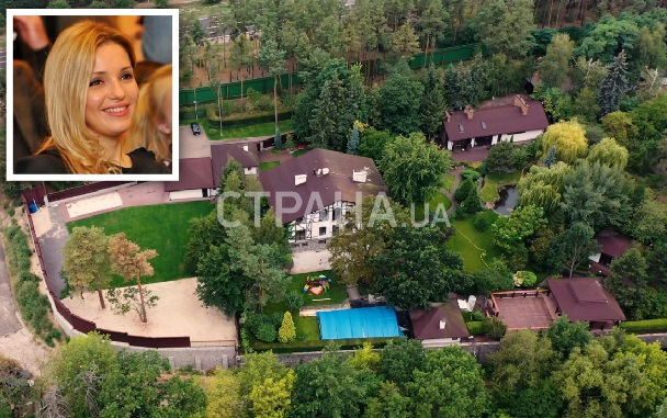 СМИ показали особняки Юлии Тимошенко и ее дочери