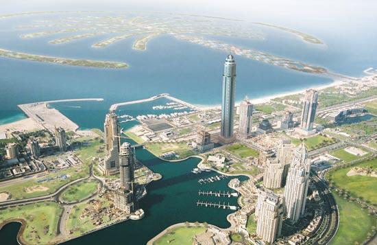Престижный район Марина в Дубаи