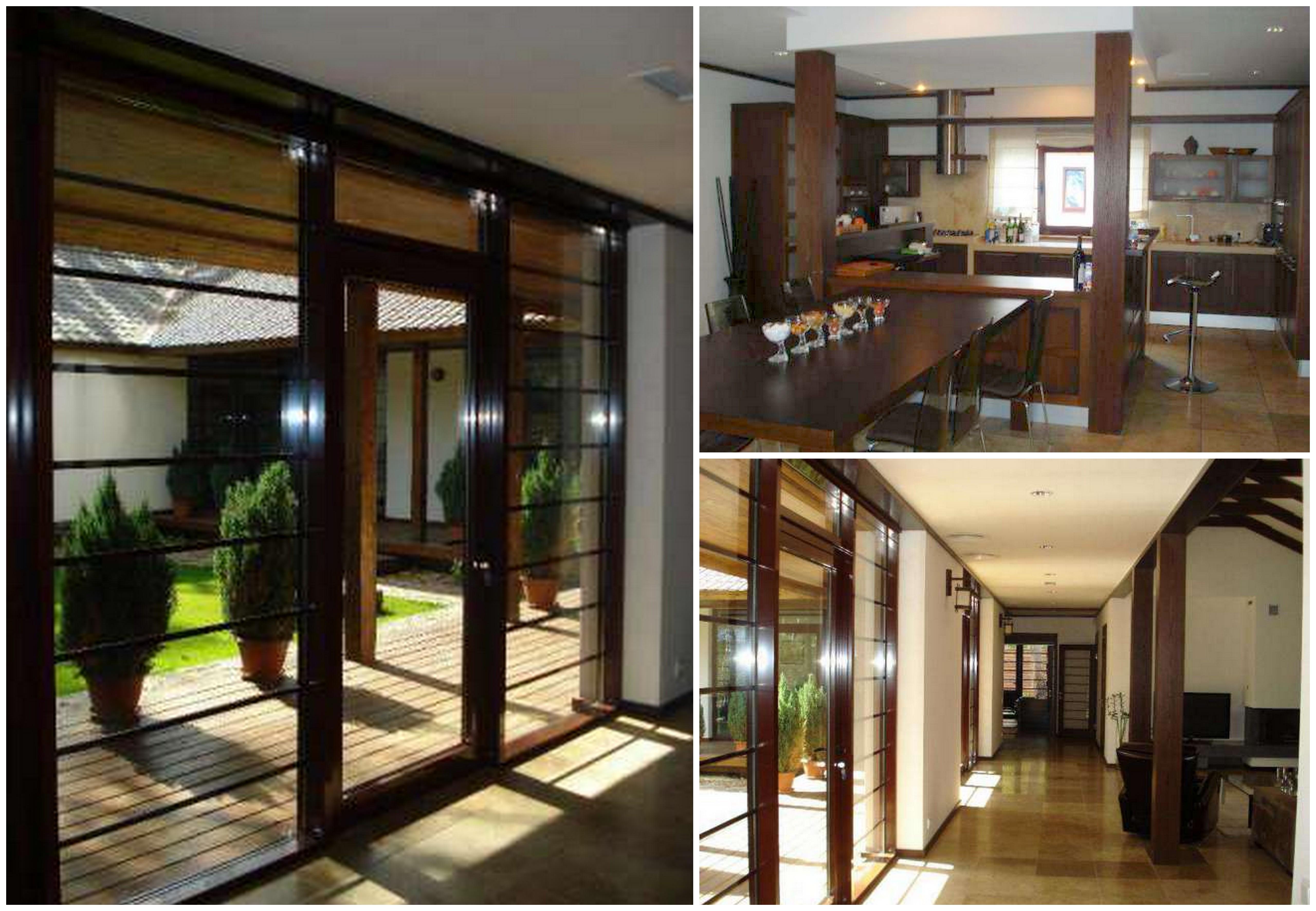 Дом Гонтаревой был выполнен в японском стиле