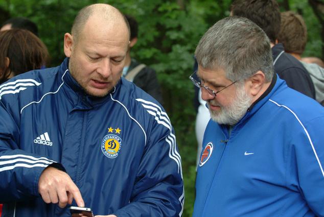 Председатель правления Александр Дубилет и Игорь Коломойский сотрудничают уже более 20 лет