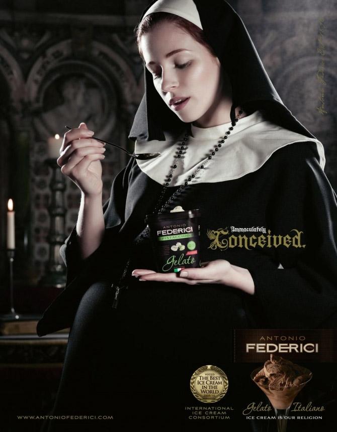 Беременная монахиня от Antonio Federici