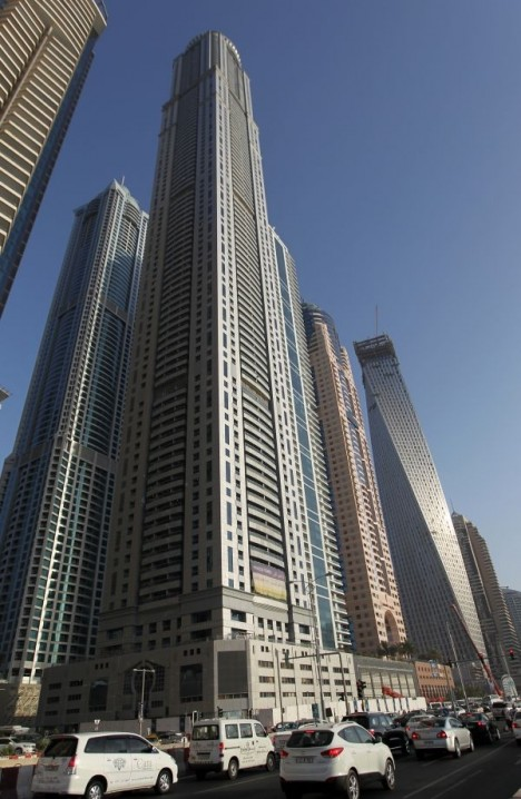 Самый высокий небоскреб мира в Дубаи: 828 метров, 162 этажа и