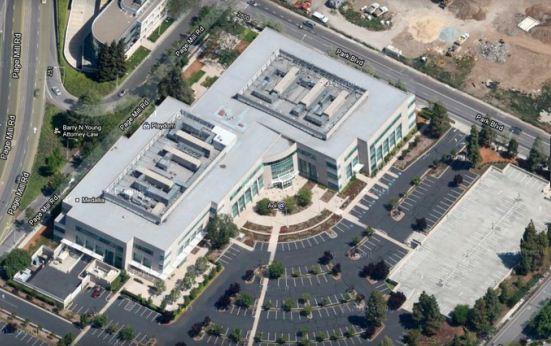 Здание AOL в Кремниевой долине