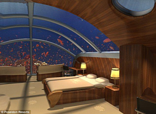 Номера в отеле Poseidon ничем не будут отличаться от роскошных апартаментов в 5-звездочных гостиницах
