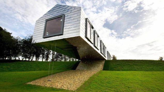 В Англии открылась гостиница, нарушающая законы гравитации