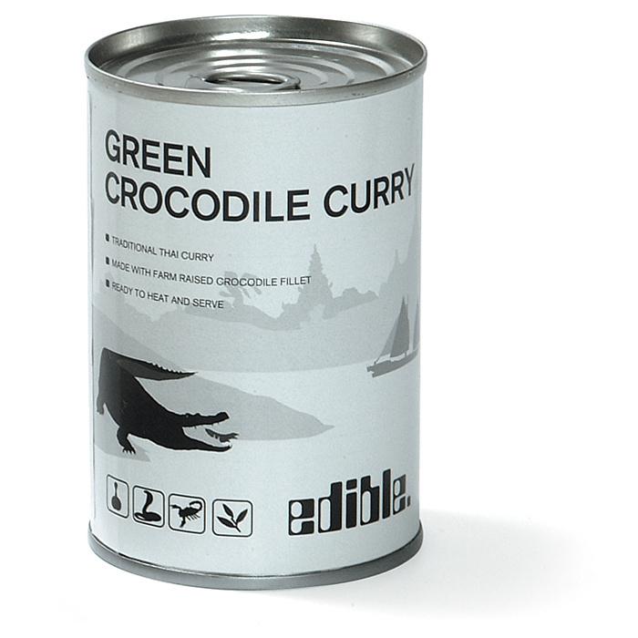 Мясо крокодила с соусом карри