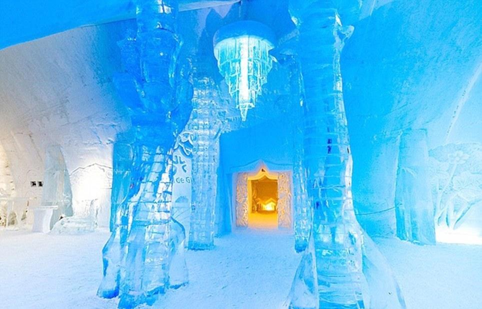 Hotel de Glace в Квебеке отрывается каждый год в январе