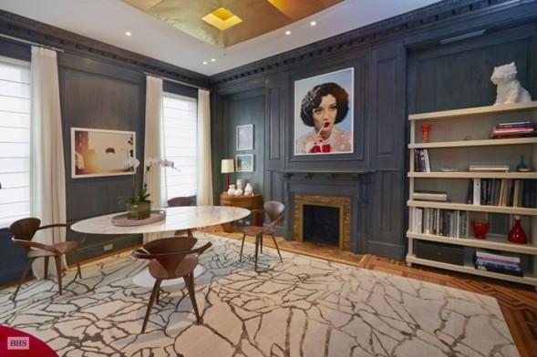 На первой этаже этого таунхауса Уорхол творил свои шедевры