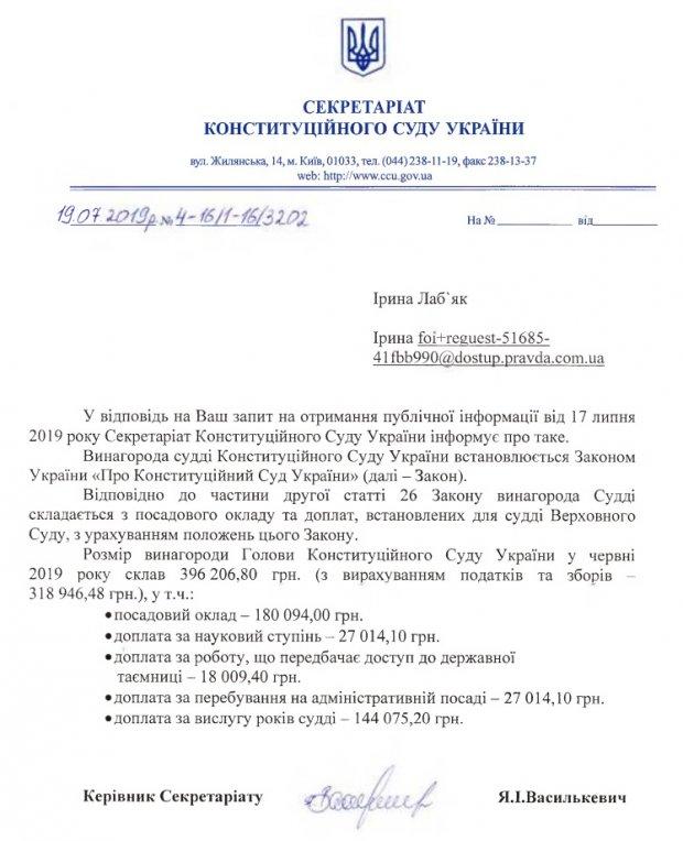 Зарплата Шапталы в июне 2019 года составила 396 206 тысяч гривен со всеми доплатами