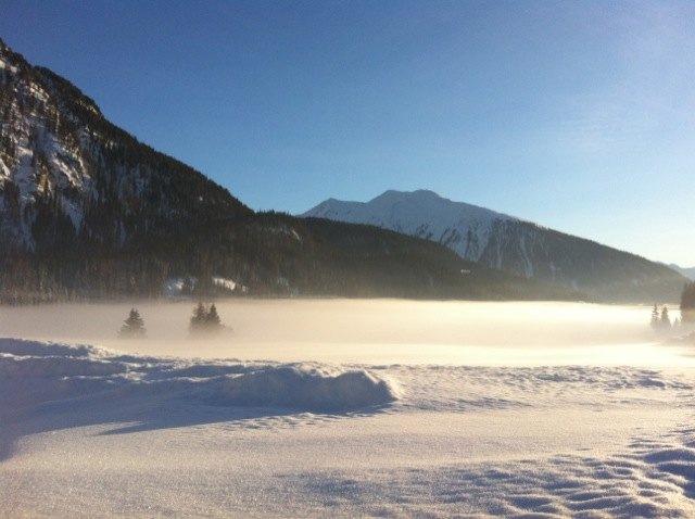 Из окон виллы открывается изумительный вид на Швейцарские Альпы